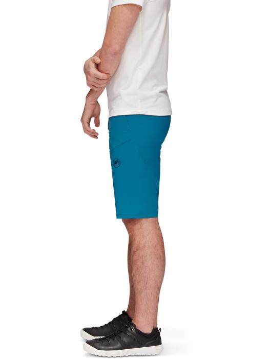 Pantaloni scurti drumetie barbati MAMMUT Runbold safir [3]