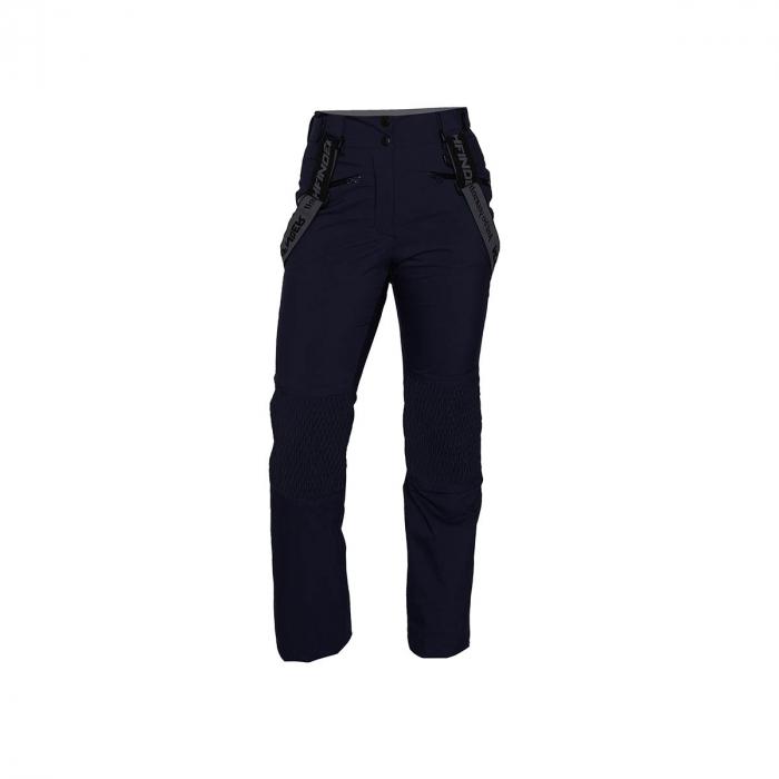 Pantaloni femei ski 2L NORTHFINDER Ghresta bleumarin [0]