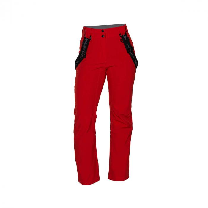 Pantaloni femei ski stretch NORTHFINDER Todfysea rosii [0]