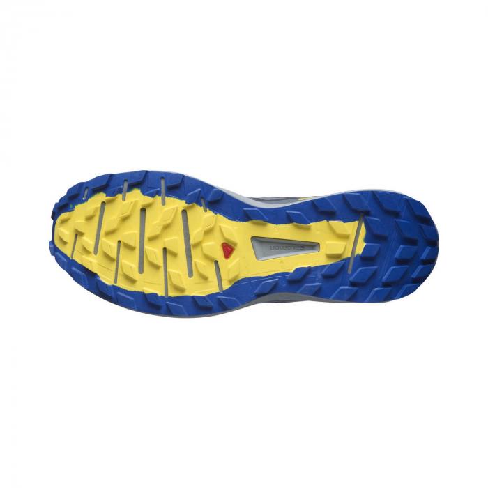 Pantofi alergare barbati SALOMON SENSE RIDE 4 INVISIBLE GTX gri [3]