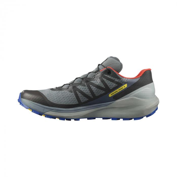 Pantofi alergare barbati SALOMON SENSE RIDE 4 INVISIBLE GTX gri [6]