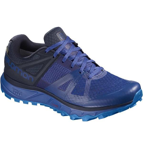 Pantofi alergare barbati Salomon TRAILSTER GTX® albastri [0]