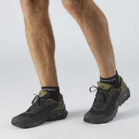 Pantofi drumetie barbati SALOMON X REVEAL GTX Phantm/Burnt Olive/Black [1]