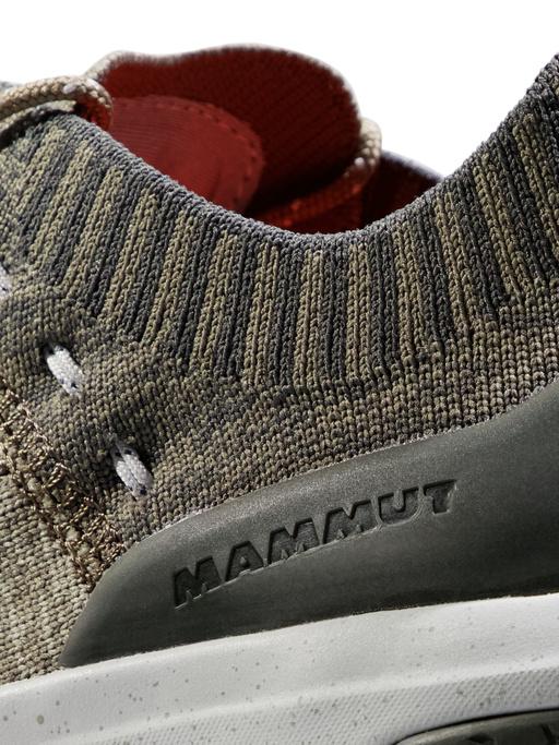 Pantofi drumetie barbati MAMMUT Hueco Knit Low verde [2]