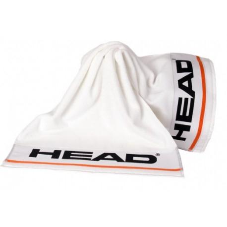 Prosop tenis bumbac Head S 50x100 alb [0]