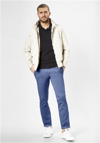 Pantaloni chino barbati REDPOINT Jasper 6182 albastri [2]
