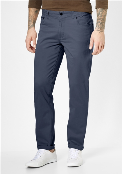 Pantaloni barbati 5 buzunare REDPOINT Milton 4939 bleumarin [0]