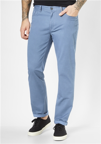 Pantaloni barbati 5 buzunare REDPOINT Milton 6182 albastri [0]