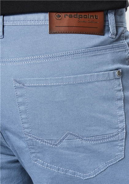 Pantaloni barbati 5 buzunare REDPOINT Milton 6182 albastri [3]