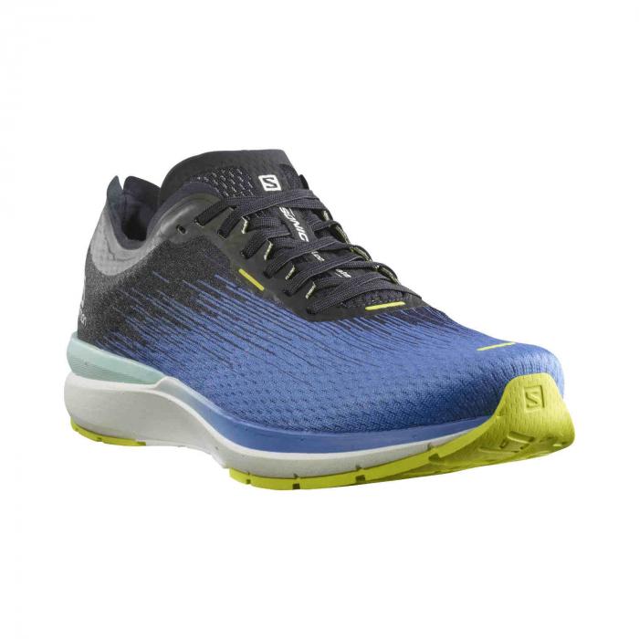Pantofi alergare barbati SALOMON SONIC 4 Accelerate albastru [1]