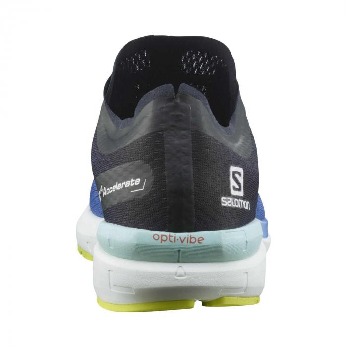 Pantofi alergare barbati SALOMON SONIC 4 Accelerate albastru [4]