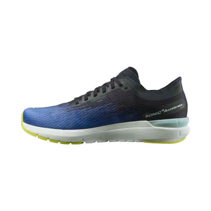 Pantofi alergare barbati SALOMON SONIC 4 Accelerate albastru [6]