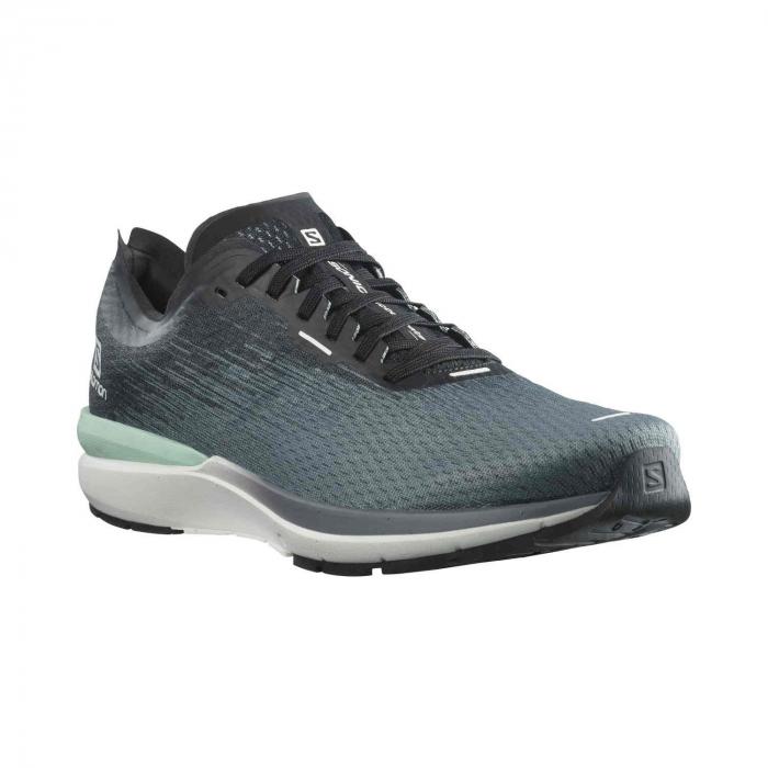 Pantofi alergare barbati SALOMON SONIC 4 Accelerate gri [1]
