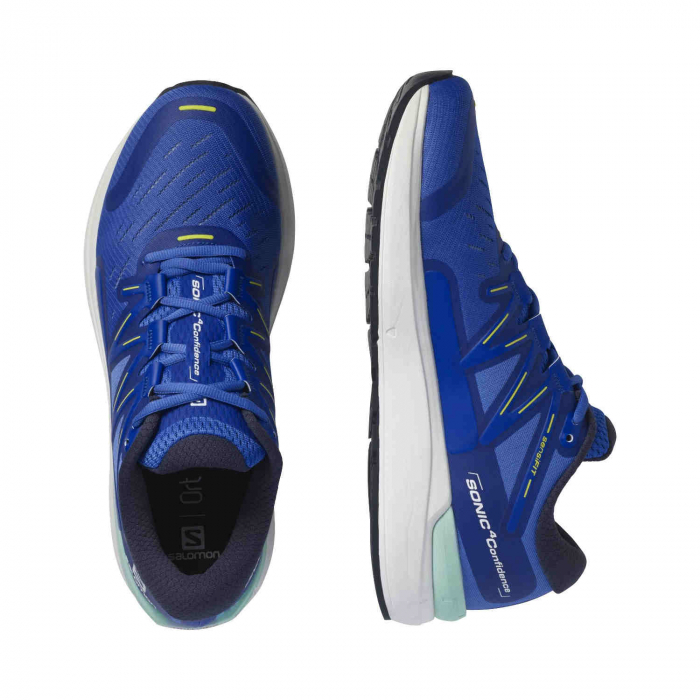 Pantofi alergare barbati SALOMON SONIC 4 Confidence albastru [1]