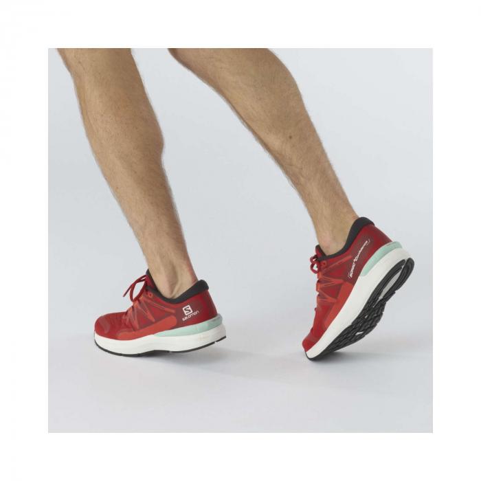 Pantofi alergare barbati SALOMON SONIC 4 Confidence rosu [2]