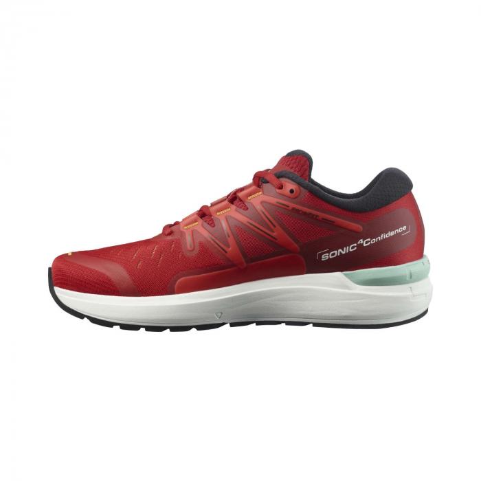 Pantofi alergare barbati SALOMON SONIC 4 Confidence rosu [6]