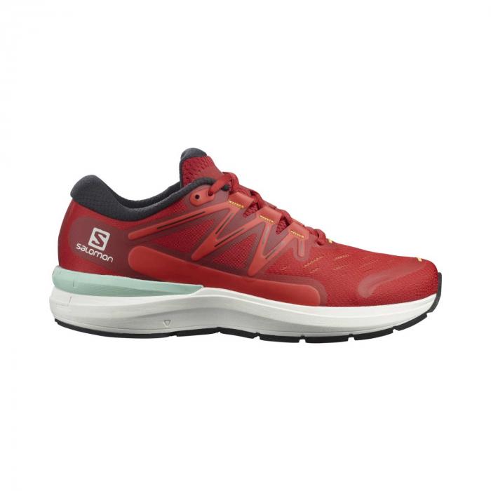 Pantofi alergare barbati SALOMON SONIC 4 Confidence rosu [0]