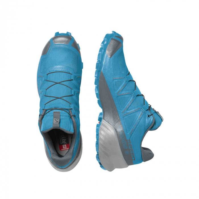 Pantofi alergare barbati SALOMON SPEEDCROSS 5 albastru [4]