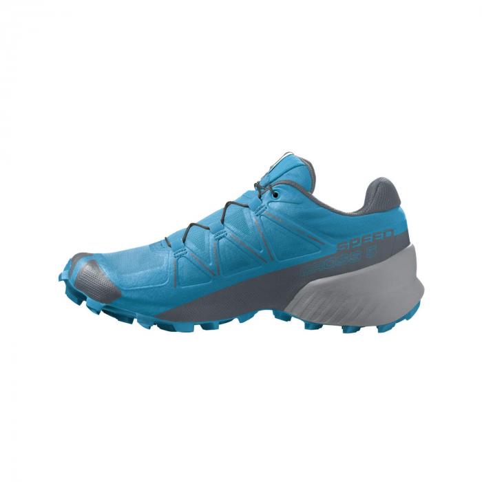 Pantofi alergare barbati SALOMON SPEEDCROSS 5 albastru [6]