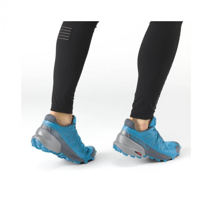 Pantofi alergare barbati SALOMON SPEEDCROSS 5 albastru [2]