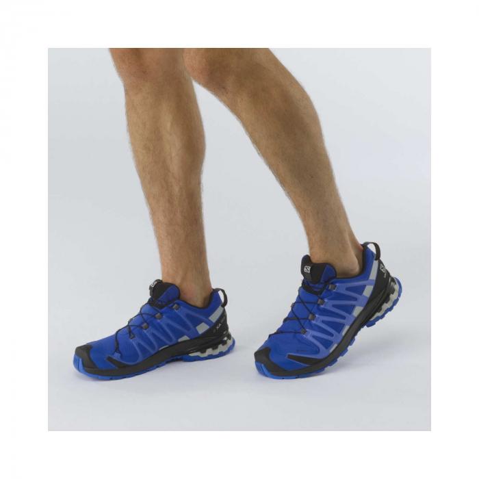 Pantofi alergare barbati SALOMON XA PRO 3D v8 GTX albastru [2]