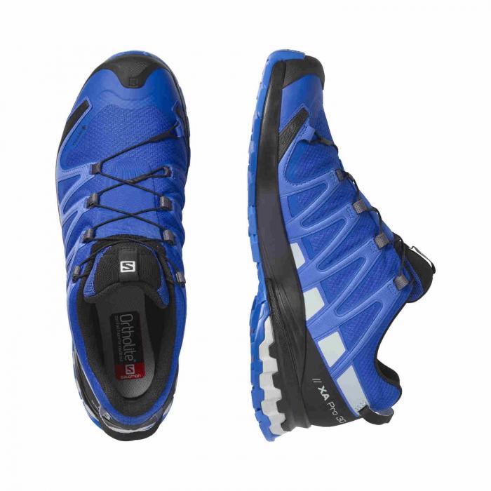 Pantofi alergare barbati SALOMON XA PRO 3D v8 GTX albastru [1]