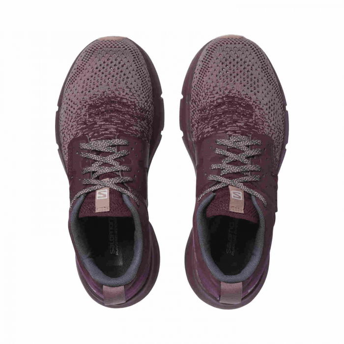 Pantofi alergare femei SALOMON PREDICT SOC W mov [1]