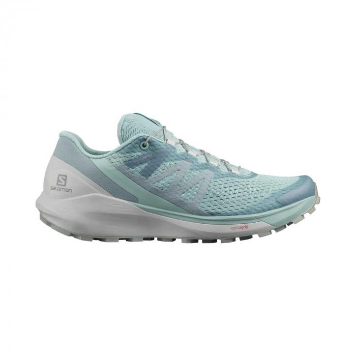 Pantofi alergare femei SALOMON SENSE RIDE 4 W vernil [0]