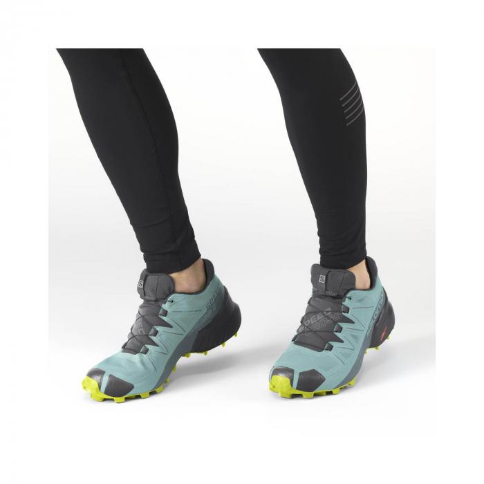 Pantofi alergare femei SALOMON SPEEDCROSS 5 GTX W vernil [2]