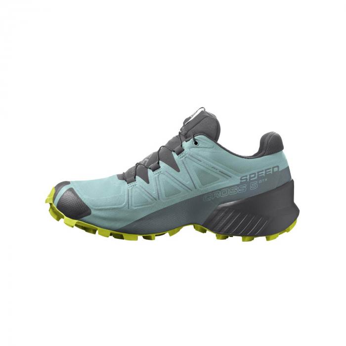 Pantofi alergare femei SALOMON SPEEDCROSS 5 GTX W vernil [6]