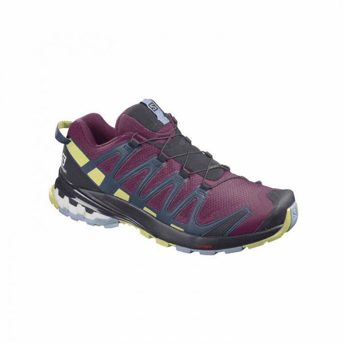 Pantofi alergare femei SALOMON XA PRO 3D v8 GTX W mov [1]