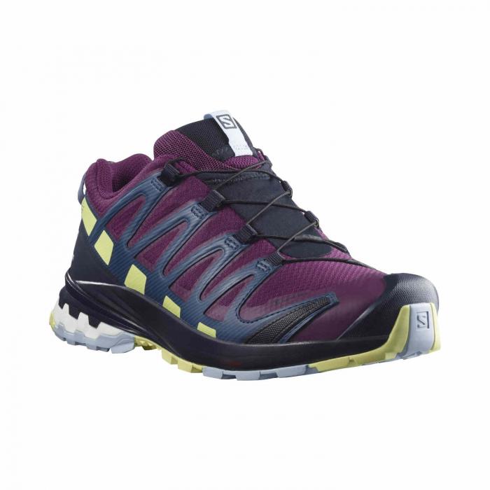 Pantofi alergare femei SALOMON XA PRO 3D v8 GTX W mov [2]