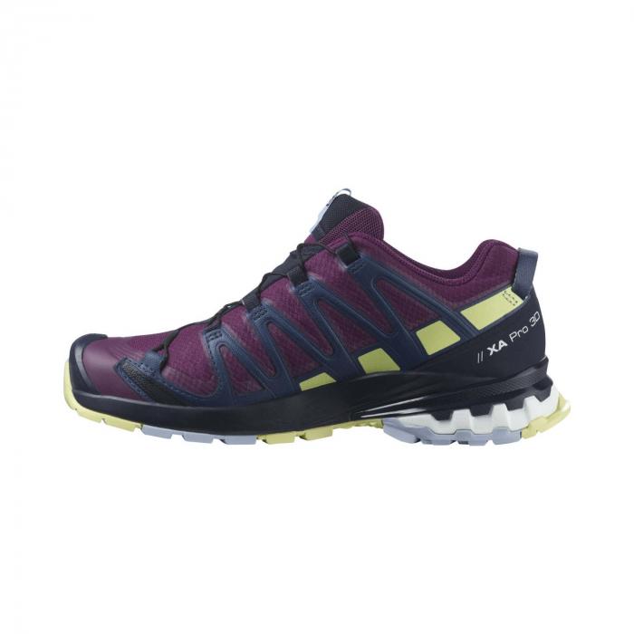 Pantofi alergare femei SALOMON XA PRO 3D v8 GTX W mov [7]