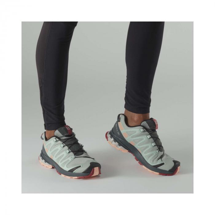 Pantofi alergare femei SALOMON XA PRO 3D v8 W vernil [2]