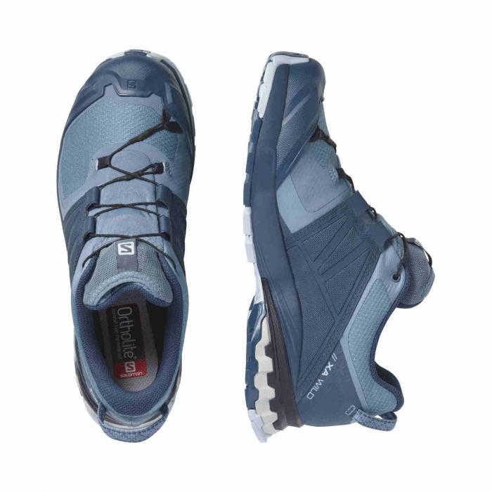 Pantofi alergare femei SALOMON XA WILD GTX W gri [5]