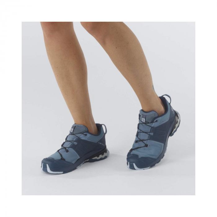 Pantofi alergare femei SALOMON XA WILD GTX W gri [2]