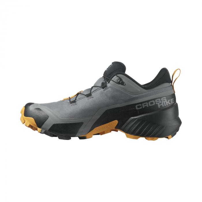 Pantofi drumetie barbati SALOMON CROSS HIKE GTX gri [6]