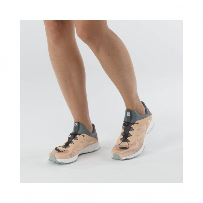 Pantofi drumetie femei SALOMON AMPHIB BOLD 2 W bej [2]