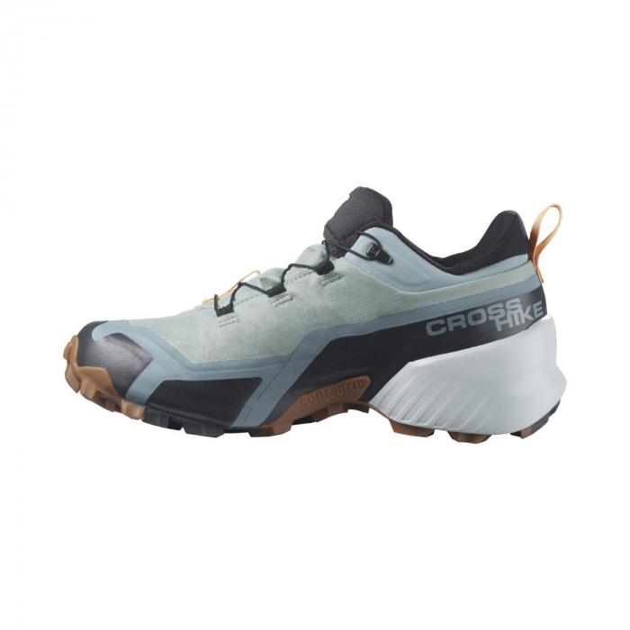 Pantofi drumetie femei SALOMON CROSS HIKE GTX W vernil [6]