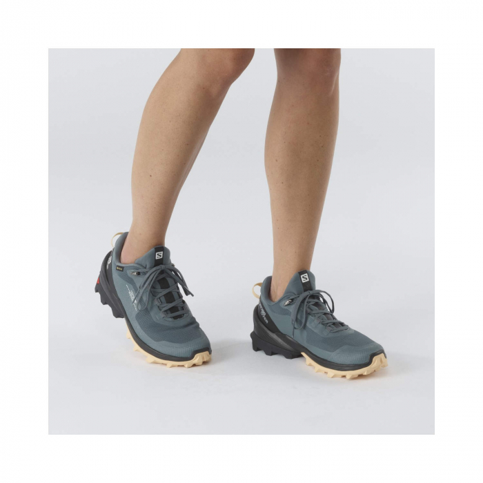 Pantofi drumetie femei SALOMON CROSS OVER GTX W gri [2]