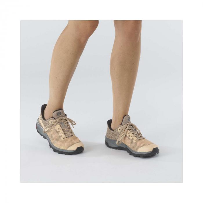 Pantofi drumetie femei SALOMON OUTline Prism GTX W bej [2]