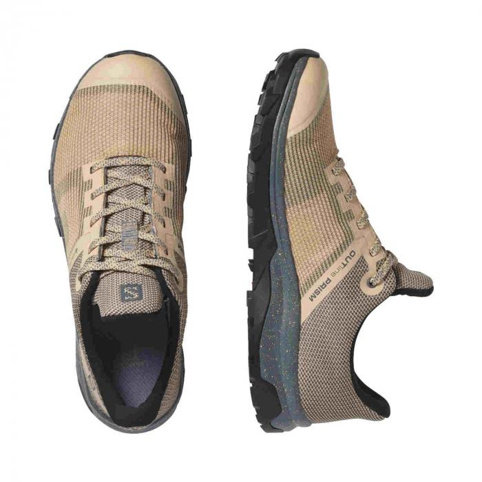 Pantofi drumetie femei SALOMON OUTline Prism GTX W bej [3]