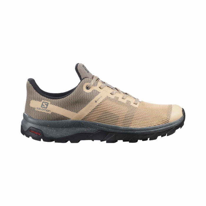 Pantofi drumetie femei SALOMON OUTline Prism GTX W bej [0]