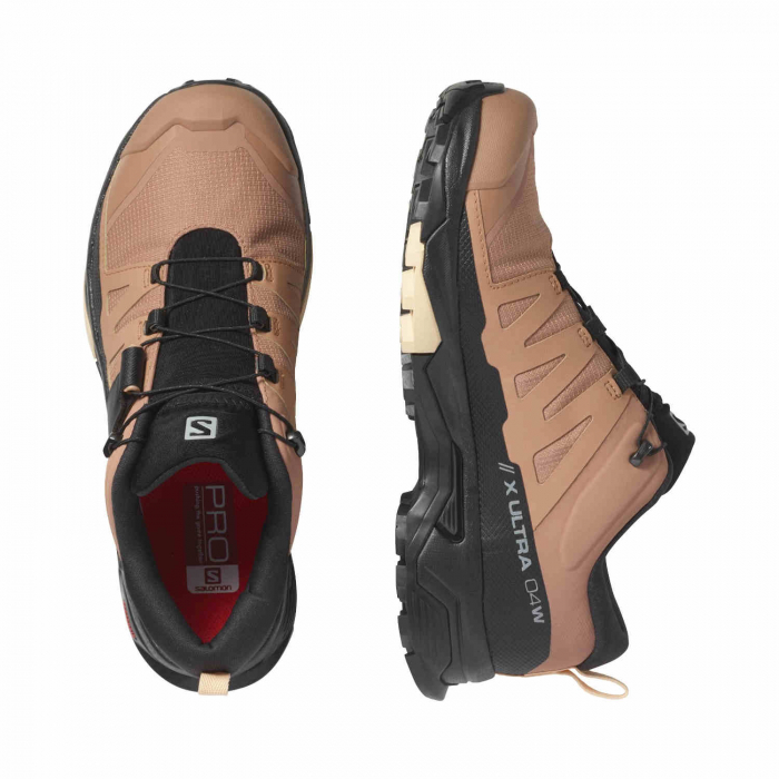 Pantofi drumetie femei SALOMON X ULTRA 4 GTX W maro [5]