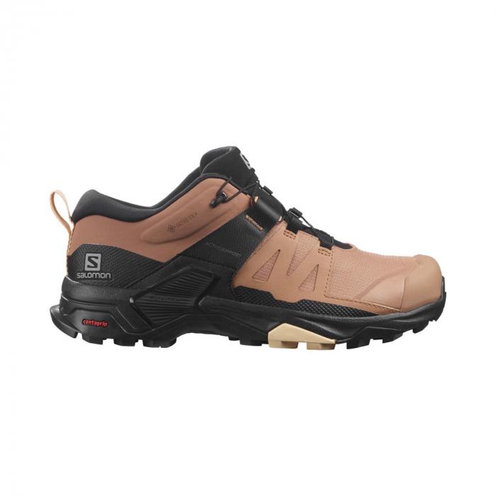 Pantofi drumetie femei SALOMON X ULTRA 4 GTX W maro [0]