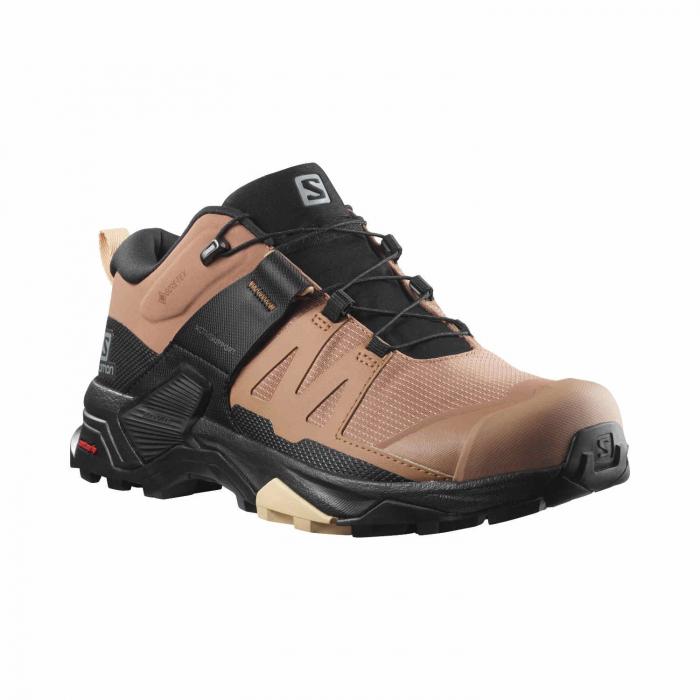 Pantofi drumetie femei SALOMON X ULTRA 4 GTX W maro [1]