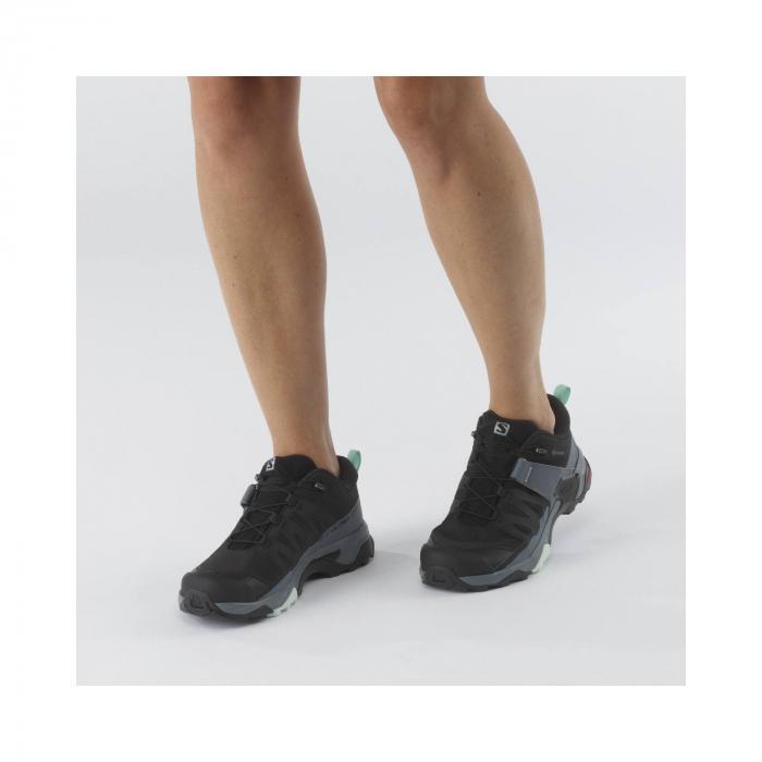 Pantofi drumetie femei SALOMON X ULTRA 4 GTX W negru [2]
