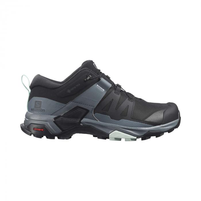 Pantofi drumetie femei SALOMON X ULTRA 4 GTX W negru [0]