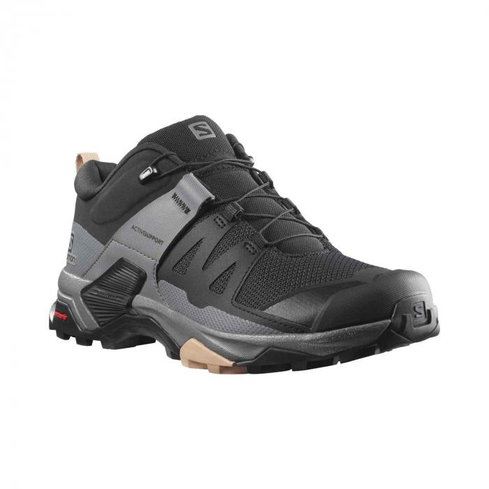 Pantofi drumetie femei SALOMON X ULTRA 4 W negru [4]