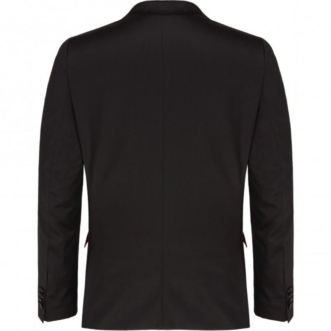 Sacou mix&match CLUB of GENTS Cayson pentru costum Slim Fit negru [1]